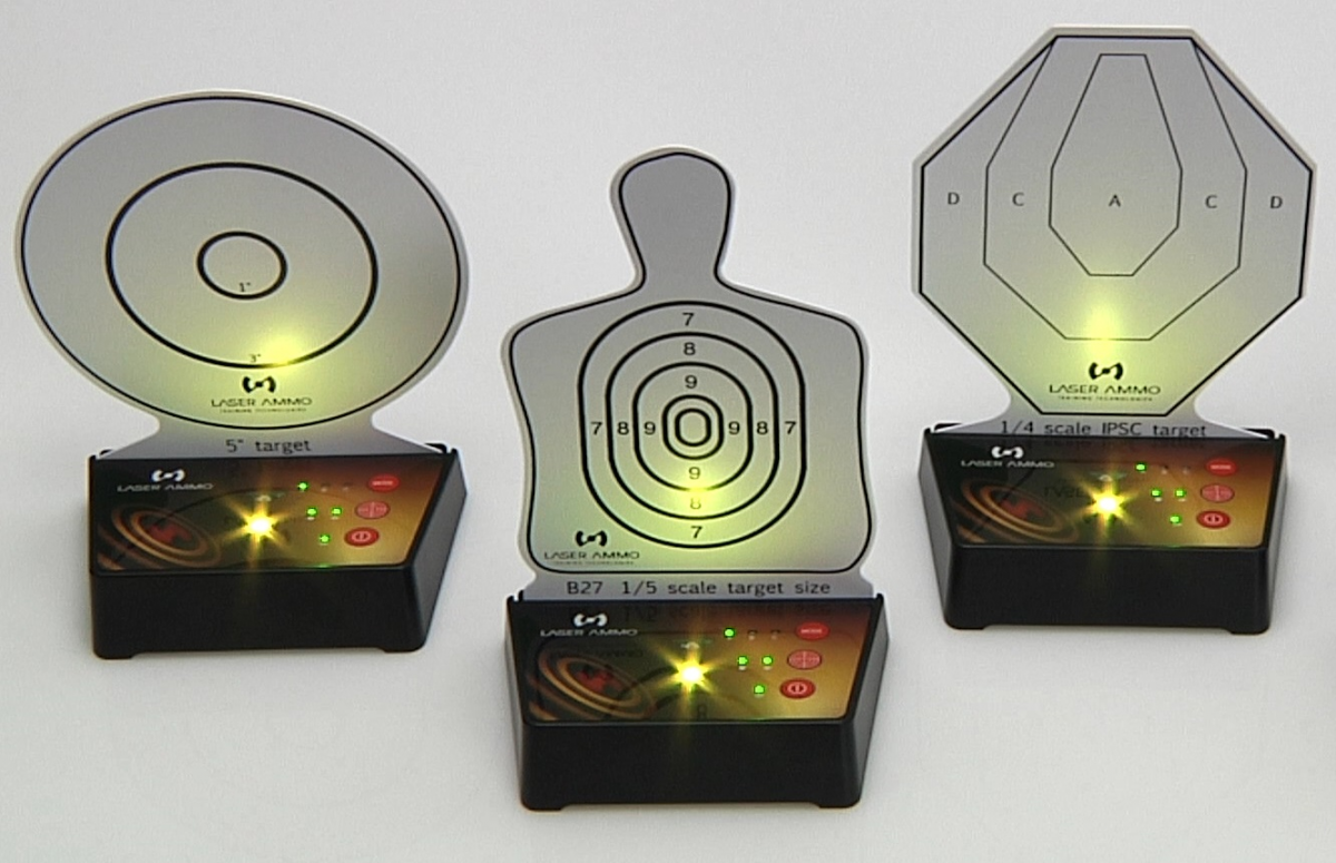 Interactive Multi Target Training System 5 Pack Laser Ammo