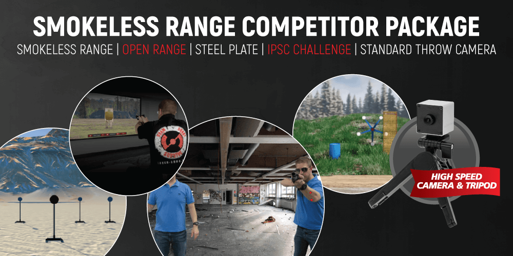 Competitor Simulator Combo Package (With Standard Throw Camera)