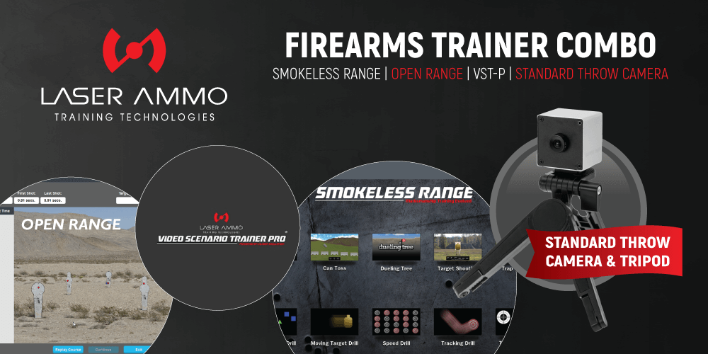 Firearms Trainer Simulator Combo Package (with Standard Throw Camera)