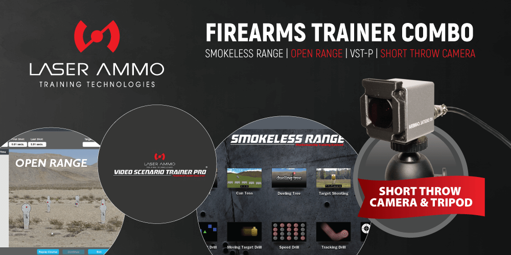 Firearms Trainer Simulator Combo Package (with Short Throw Camera)
