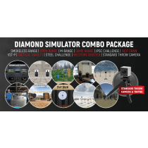 Diamond Smokeless Range ® Simulator Combo Package (with Standard Throw Camera)