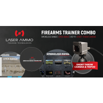 Firearms Trainer Simulator Combo Package with Short Throw Camera