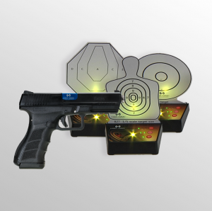 Training Pistol Electronic Target Package