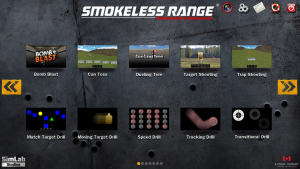 Smokeless Range 2.0 ® Judgmental and Marksmanship Shooting Simulator