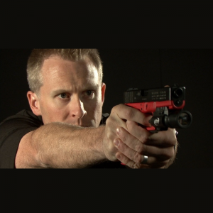 SureStrike™ 9mm Vibration for Glock 17R (Red Glock for Training)