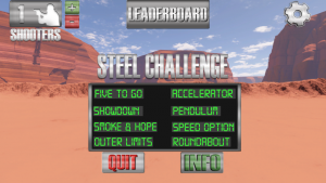 Smokeless Range ® Competitive Shooter /  Steel Challenge Simulator Add-on